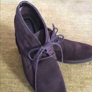 Men's Brown Suede Ankle Shoe
